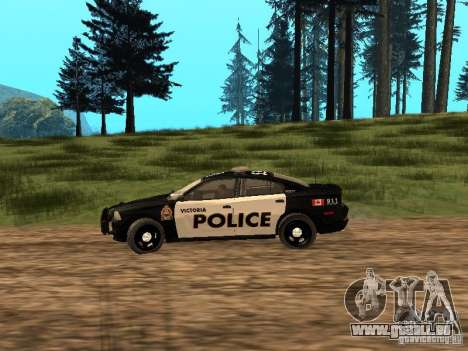Dodge Charger Canadian Victoria Police 2011 für GTA San Andreas linke Ansicht