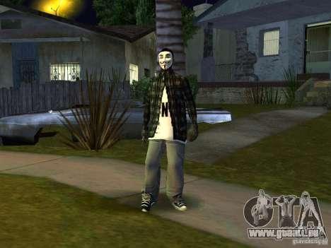 Le nouveau Anonymus Grove pour GTA San Andreas