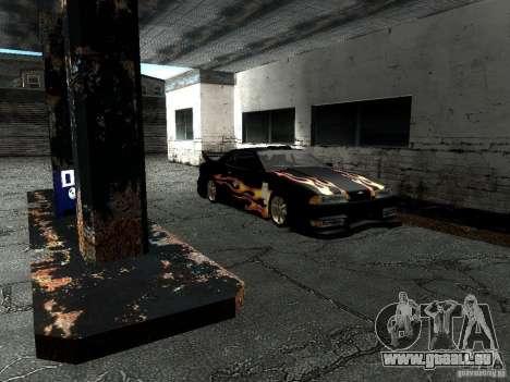 Rèjzora de vinyle de Most Wanted pour GTA San Andreas vue de droite