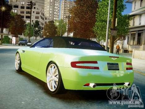 Aston Martin DB9 Volante v2.0 pour GTA 4 est une gauche