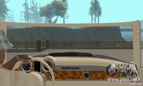 Mercedes-Benz 280SL (Matt) pour GTA San Andreas vue intérieure