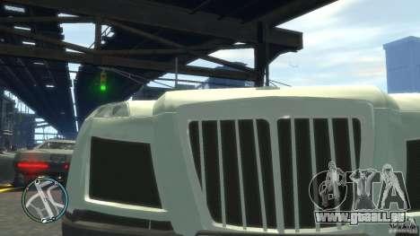 Maybach Exelero pour GTA 4 est une vue de l'intérieur