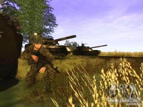 Ein russischer Soldat-Haut für GTA San Andreas