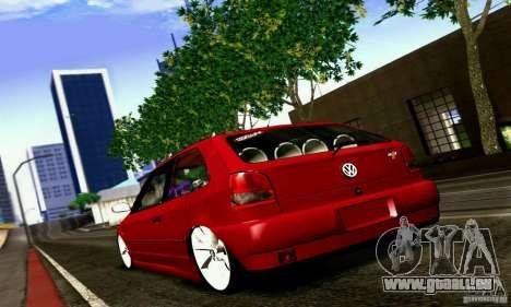 Volkswagen GOL G2 Tuning pour GTA San Andreas laissé vue