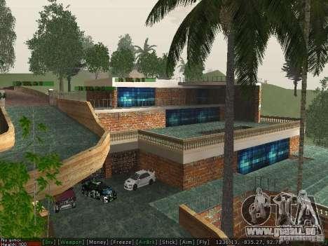Neue Villa Med-Dogg für GTA San Andreas dritten Screenshot