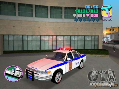 Ford Police für GTA Vice City