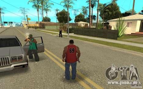Grove Street Skin Pack für GTA San Andreas neunten Screenshot