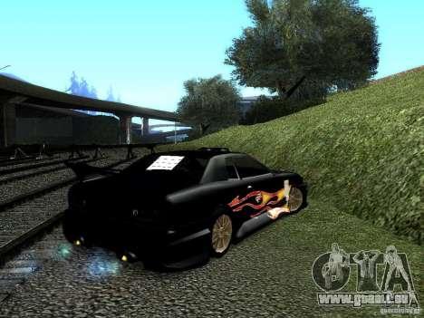 Rèjzora de vinyle de Most Wanted pour GTA San Andreas laissé vue
