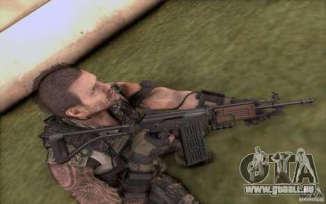 IMI GALIL AR pour GTA San Andreas troisième écran