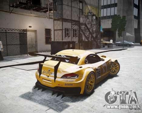 BMW Z4 GT3 2010 für GTA 4 linke Ansicht