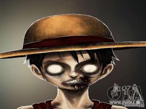 Écran de démarrage de Zombies pour GTA San Andreas troisième écran