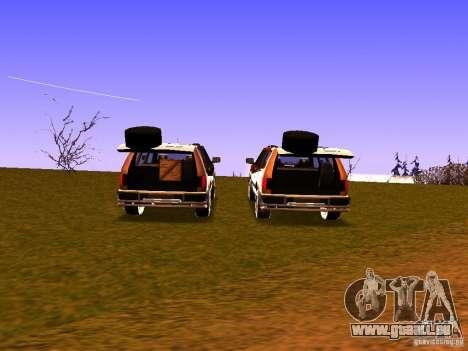Mountainstalker S pour GTA San Andreas vue de côté