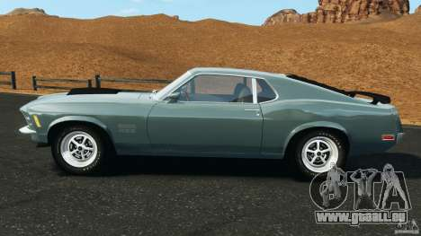 Ford Mustang Boss 429 für GTA 4 linke Ansicht