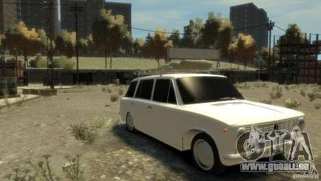 VAZ 2102 pour GTA 4 Vue arrière de la gauche