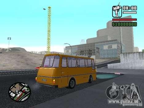 TV 7 pour GTA San Andreas vue de droite