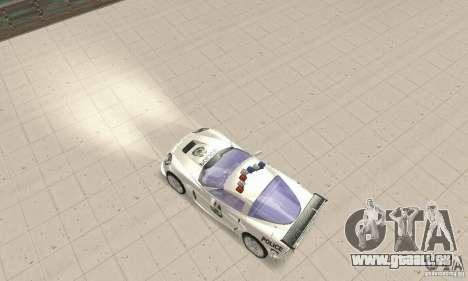 Chevrolet Corvette C6 Polizei-Sergeant Cross NFS für GTA San Andreas rechten Ansicht