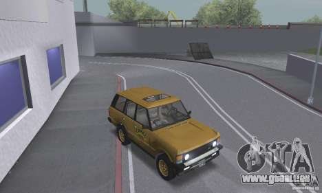 Range Rover County Classic 1990 für GTA San Andreas Seitenansicht