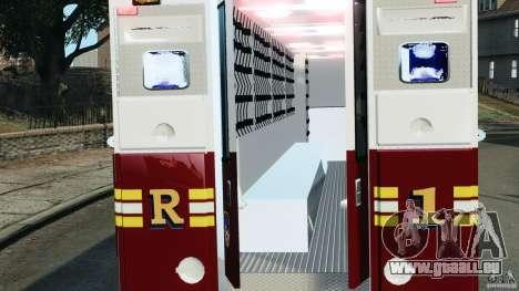 FDNY Rescue 1 [ELS] pour GTA 4 Vue arrière