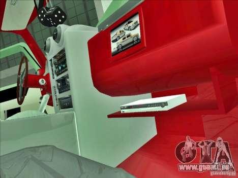 Hummer H2 Phantom pour GTA San Andreas vue de côté