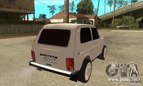 WAZ 21213 NIVA getönt für GTA San Andreas rechten Ansicht