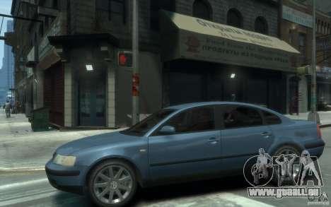 Volkswagen Passat B5 Final pour GTA 4 est une gauche