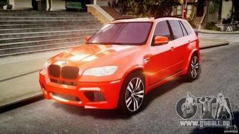 BMW X5M Chrome für GTA 4 Innenansicht
