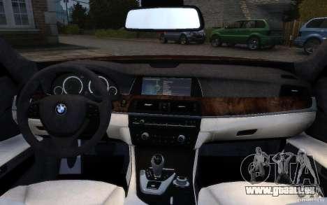 BMW 760Li 2011 pour GTA 4 Salon