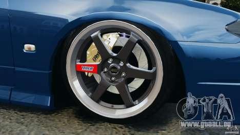 Nissan Silvia S15 JDM pour GTA 4 est une vue de dessous