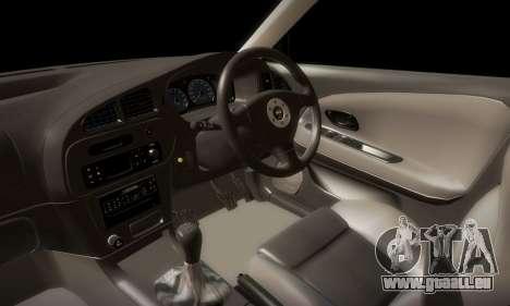 Mitsubishi Lancer Evolution 6 pour GTA San Andreas vue de côté