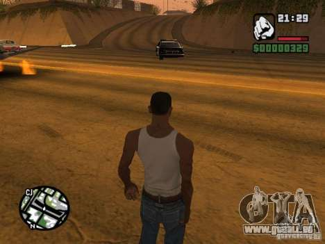 Kyubi-Bomb pour GTA San Andreas troisième écran