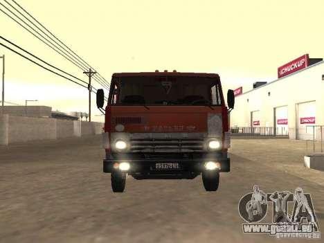 KAMAZ 5410 pour GTA San Andreas sur la vue arrière gauche