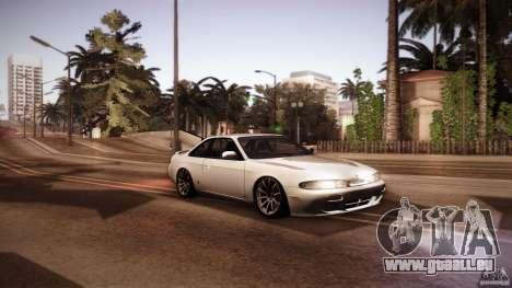 Nissan Silvia S14 Zenk für GTA San Andreas Rückansicht
