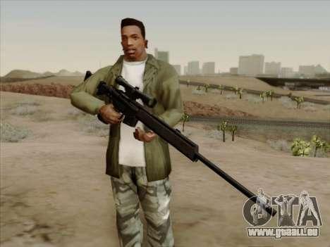 HK PSG 1 pour GTA San Andreas deuxième écran