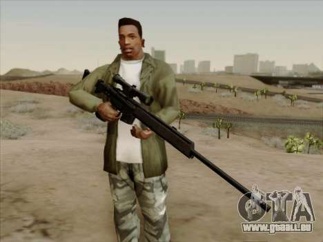 HK PSG 1 für GTA San Andreas zweiten Screenshot