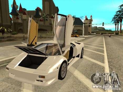 Lamborghini Diablo VT 1995 V2.0 pour GTA San Andreas vue de côté