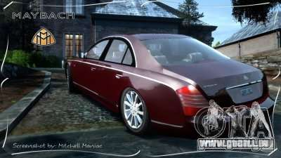 Maybach 57S für GTA 4 linke Ansicht