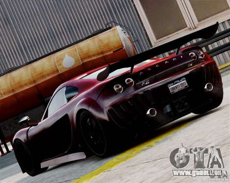 Ascari A10 2007 v2.0 pour GTA 4 est un droit