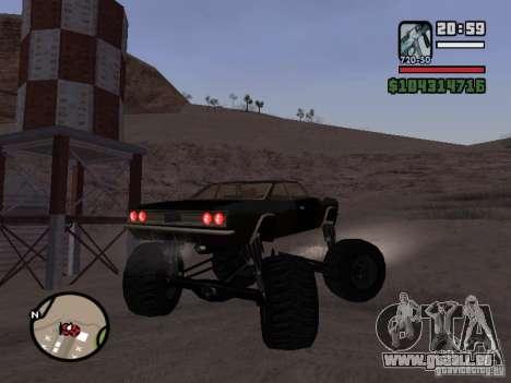 Monster Tampa pour GTA San Andreas laissé vue