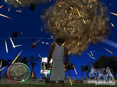 RAIN OF BOXES pour GTA San Andreas troisième écran