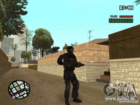 Commando de la SWAT 4 pour GTA San Andreas