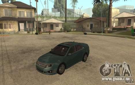 Ford Fusion 2010 für GTA San Andreas
