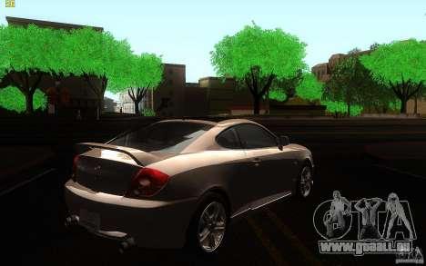Hyundai Tiburon V6 Coupe 2003 für GTA San Andreas rechten Ansicht