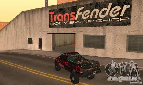 Dodge Power Wagon Paintjobs Pack 1 pour GTA San Andreas laissé vue