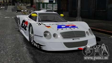 Mercedes-Benz CLK LM 1998 pour GTA 4