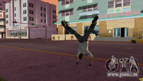 Cleo Parkour v4 pour GTA Vice City