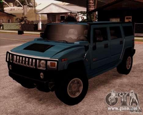 Hummer H2 SUV pour GTA San Andreas