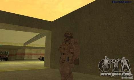 Peau Marine pour GTA San Andreas deuxième écran