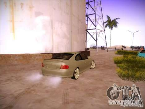 Pontiac FE GTO pour GTA San Andreas vue de droite