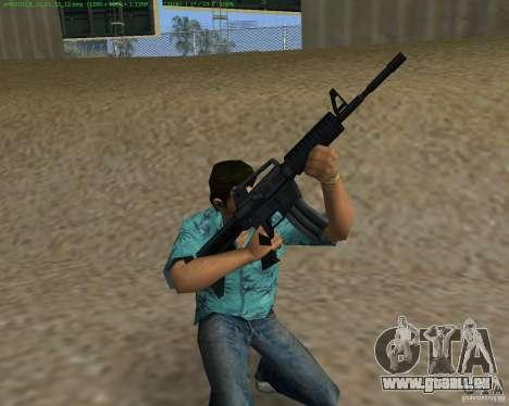 M4 von Counter Strike Source für GTA Vice City dritte Screenshot