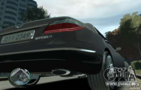 Hyundai Genesis Sedan Elite pour GTA 4 est un droit